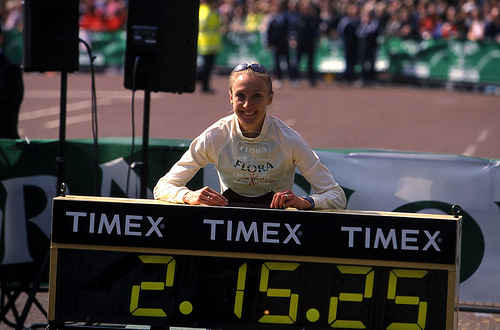 Paula Radcliffe record mundial