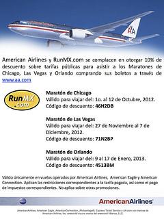 american airlines maraton disney