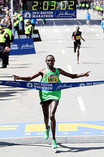 Geffrey Mutai Maraton de Boson 2011