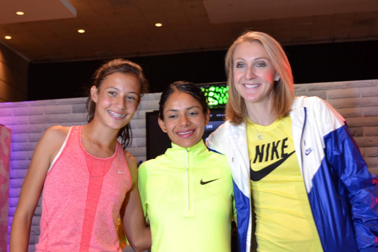 Fotos de Paula Radcliffe y de Nosotras Corremos 2013