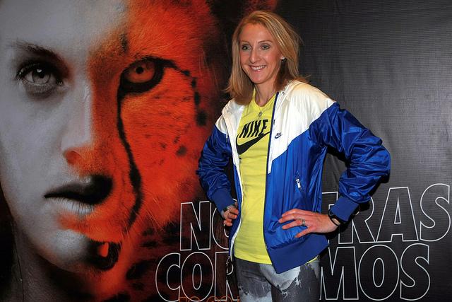 Paula Radcliffe en Mexico