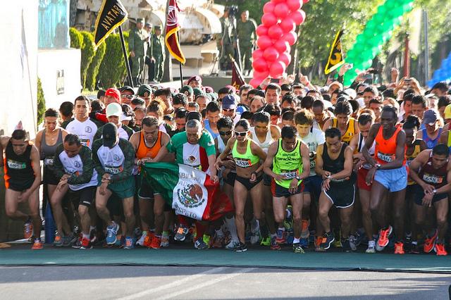 Fotos de la carrera La Gran Fuerza de México 2013