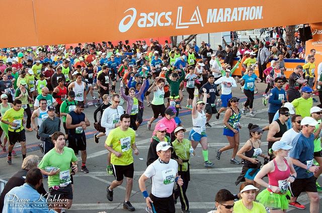 video maraton de Los Angeles