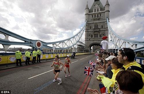 Maraton de Londres 2013