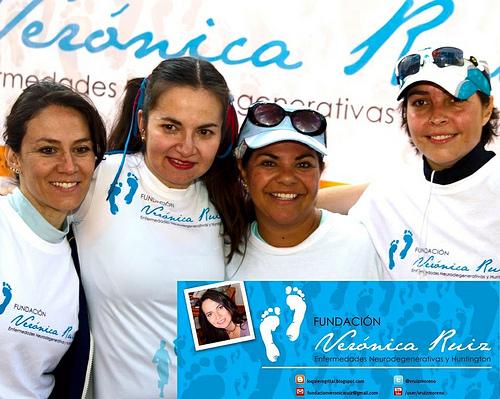 Verónica Ruiz que padece Huntington correrá el Maratón de Santiago