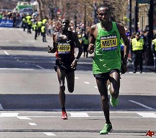 kenianos maraton de boston 2103