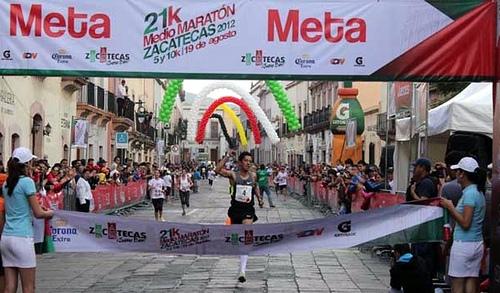 El Medio Maratón se corre bien en Zacatecas