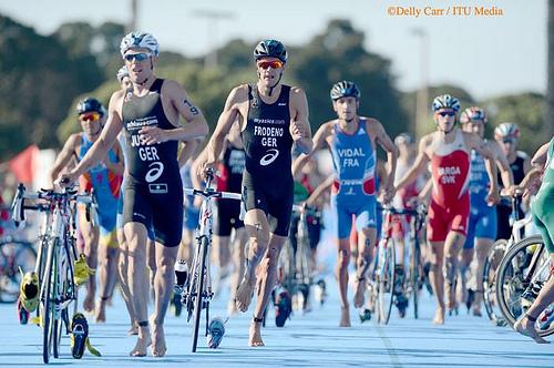 Crisanto Grajales lugar 28 en el Triatlón de Serie Mundial ITU San Diego 2013