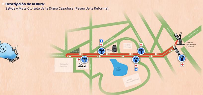 Carrera Bonafont 5K 2013 DF