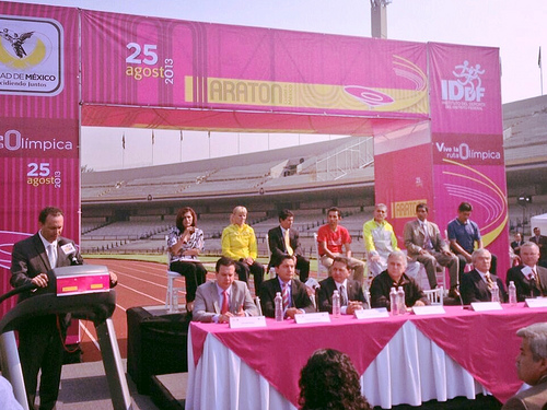 Presentan el Maratón de la Ciudad de México 2013 (Ruta)