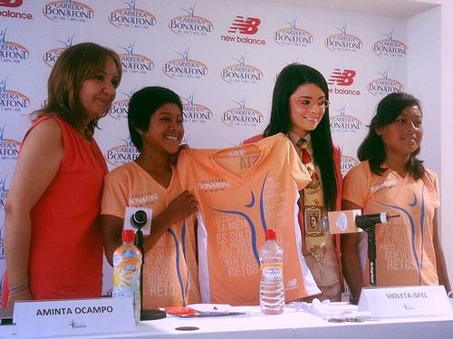 Playera de la Carrera Bonafont 2013 en México DF, Monterrey, Guadalajara y Puebla