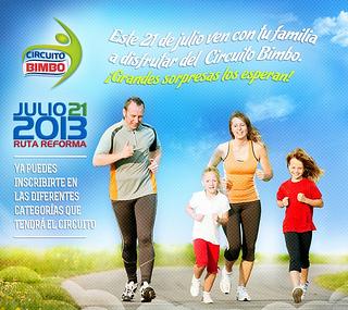 1er Circuito Bimbo 3K, 5K y 10K 2013
