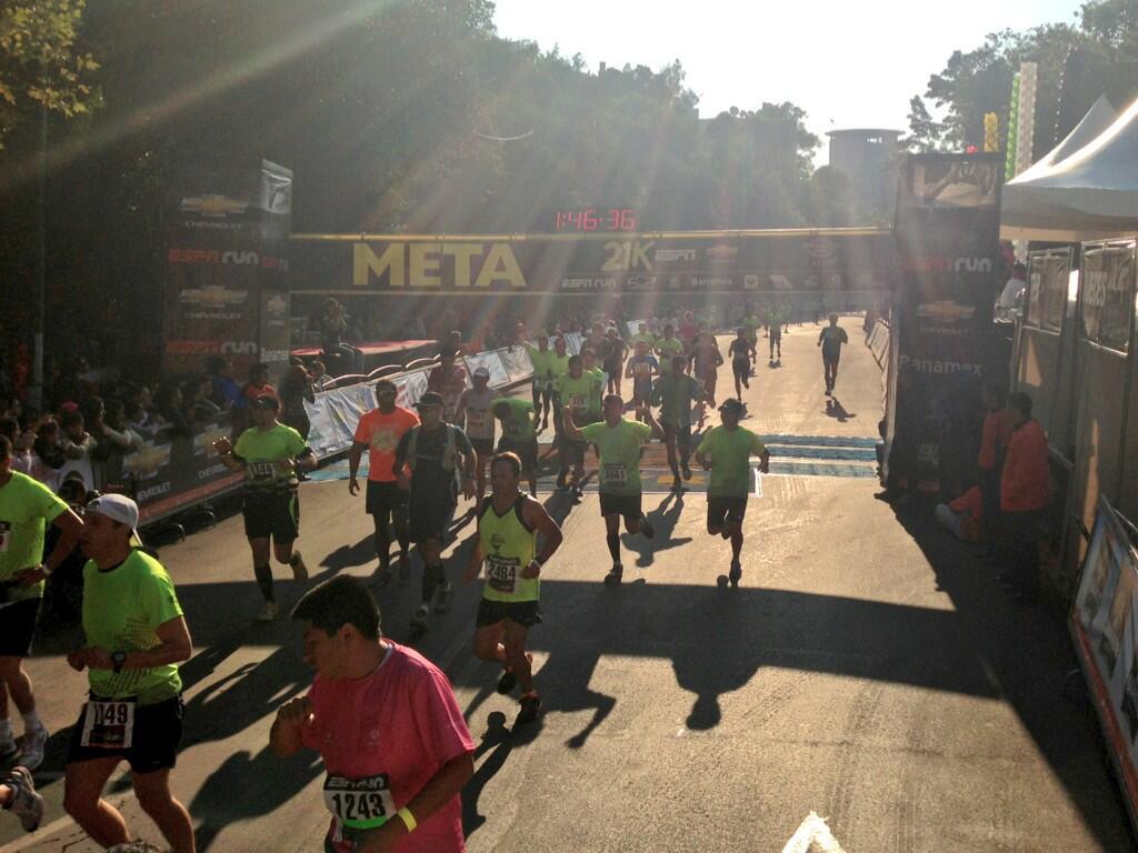 medio maraton espn 21K 2013