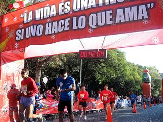 Carrera San Silvestre México DF 2013