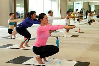 Nahila Hernández entrenó en Bikram Yoga rumbo al ultramaratón Badwater