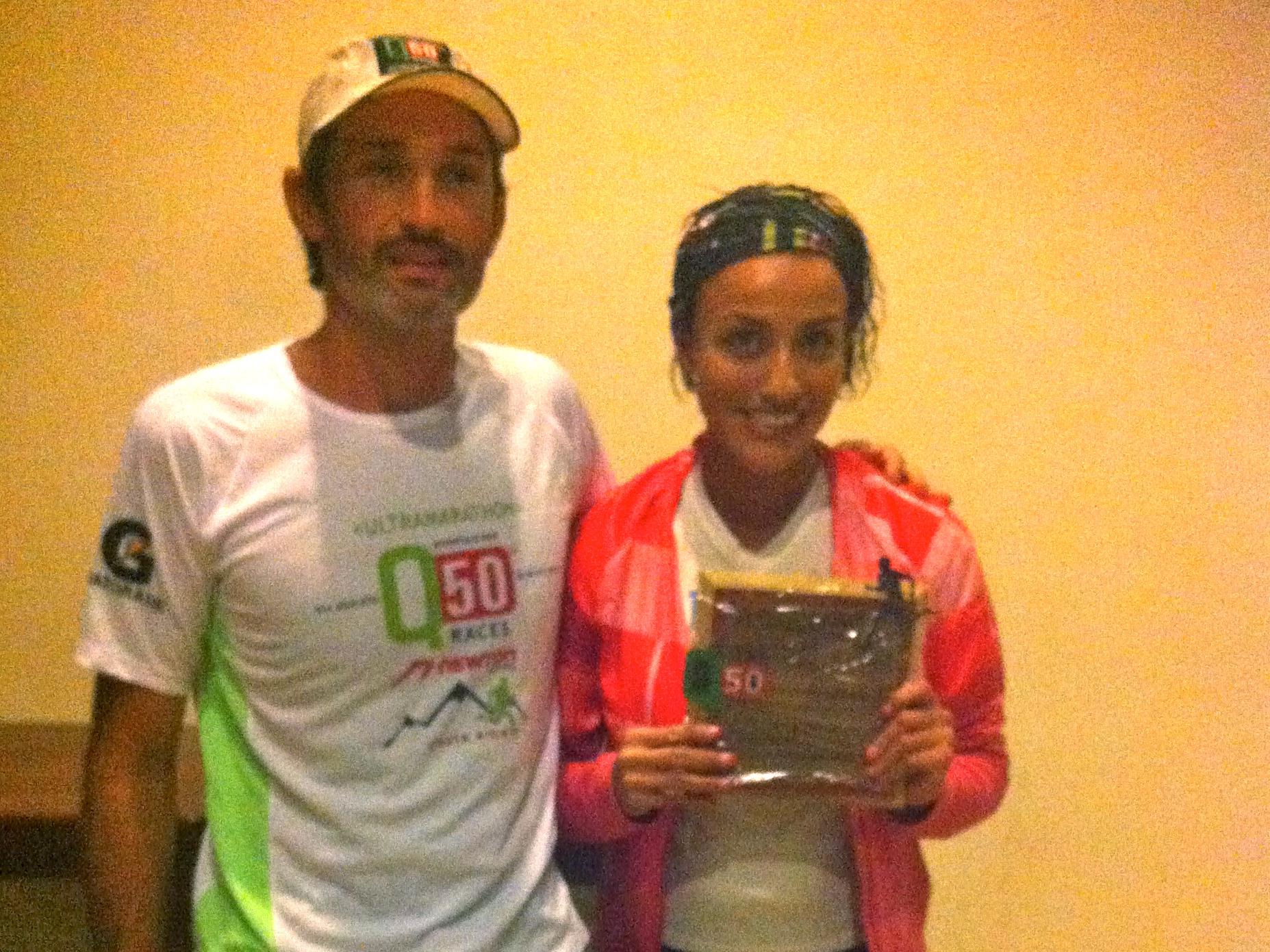 Isis Breiter de Chiapas, 2do. lugar en el Ultramaratón Q50 Costa Rica su historia
