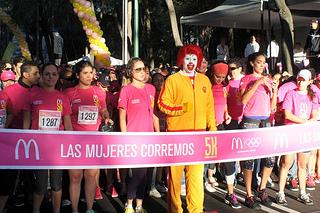 Carrera McDonalds 5K Las Mujeres Corremos 2013