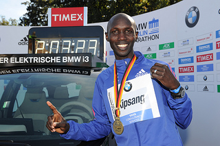 Wilson Kipsang rompe el récord mundial de maratón en Berlín