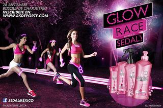 carrera glow race 5K sedal