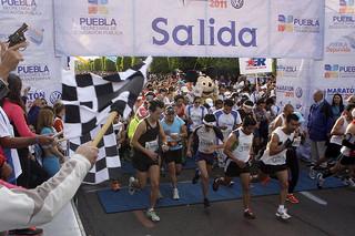Inscripción de 15 pesos para correr el Maratón de Puebla