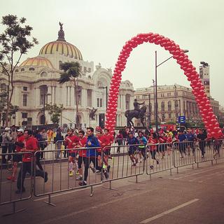 Resultados de la carrera Nike We Run México DF 2013