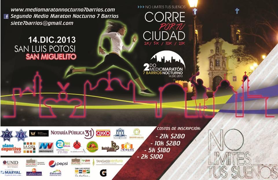 Segundo Medio Maratón Nocturno 7 Barrios