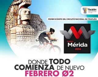 El Triatlón Mérida 2014 en Febrero
