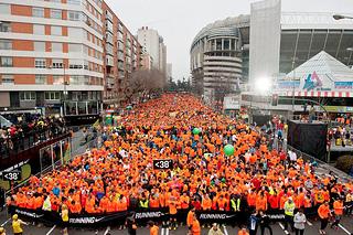 La San Silvestre Vallecana celebra su 50 aniversario con 40 mil corredores