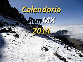 Calendario de carreras 2014