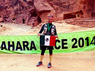 Isis Breiter termina en sexto lugar en el Sahara Race