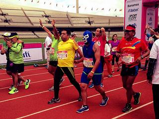 Fundaciones para correr el Maratón de la Ciudad de México 2014