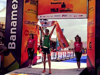 Tim Don y Heather Wurtele campeones del Ironman 70.3 Monterrey