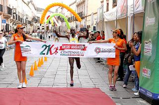Geoffrey Bundi se proclamó ganador en el Medio Maratón de Zacatecas
