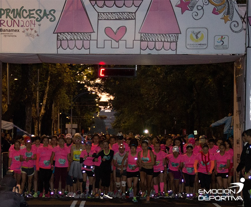 Princesas Run 10k y Madres e Hijas D.F.