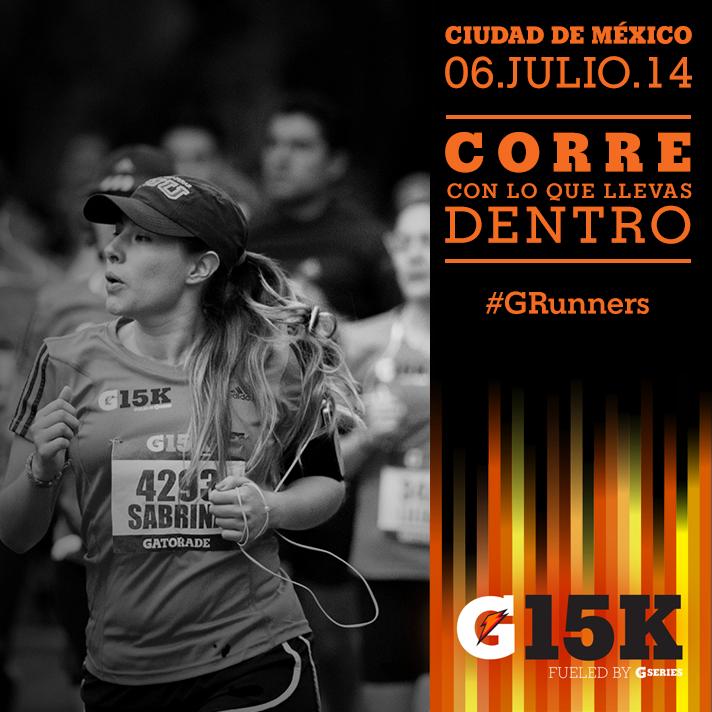 Carrera Gatorade 2014 15K