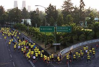 Se realizó el segundo split rumbo al Maratón de la Ciudad de México