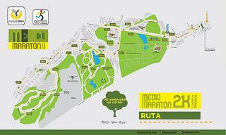ruta medio maraton 21K CDMX