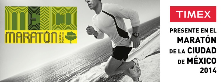 Corre con TIMEX en el Maratón de la Ciudad de México (Ruta)