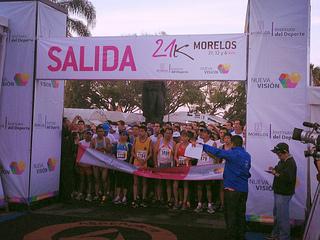 21k morelos medio maraton cuernavaca