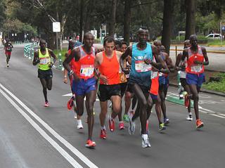 Corredores de primer nivel en el élite del Maratón Ciudad de México 2014
