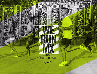 inscripciones carrera nike we run mexico 2014