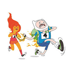 En sus marcas para la Carrera Cartoon Network 2014
