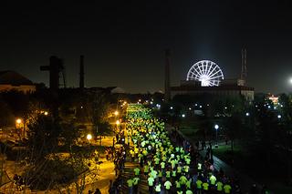Nike ilumina el Parque Fundidora con 5 mil corredores en We Run Monterrey