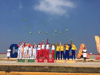 México obtiene 5 oros en el triatlón de los Juegos Centroamericanos y del Caribe Veracruz 2014