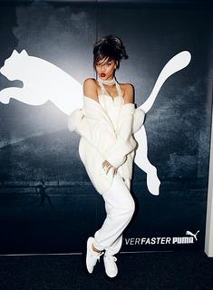 Rihanna es nombrada embajadora global de PUMA