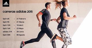 Fechas de los splits adidas 2015