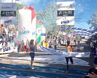 Mose y Demissier ganan el Maratón LALA 2015