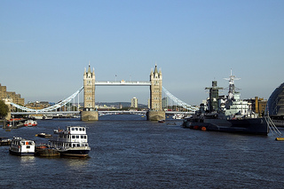 Visita a Londres, ruta para correr sobre el Río Tames