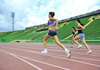 entrenamiento velocidad pista corredores runners running