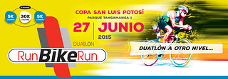 duatlon run bike run SLP 2015
